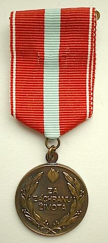 Medaile Za záchranu života